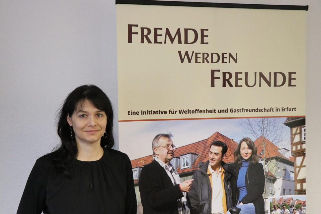 Die Projektkoordinatorin Dana Kittel